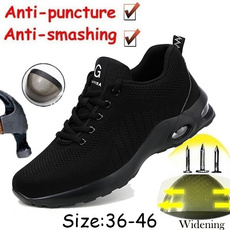 Steel, safetyshoe, Plus Size, workshoe