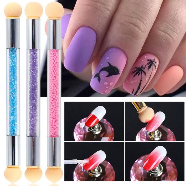 manicure tool, ombrenailbrush, bloomingpen, dottingpen