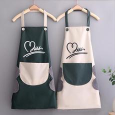 kitchenapron, gardeninng, Polyester, Love