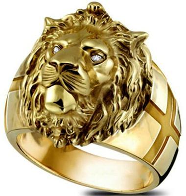 lionring, ringsformen, hip hop jewelry, statuering