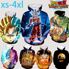 hoody sweatshirt, Dragonball, Fashion, pullover hoodie