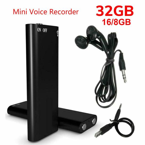 Mini, audiorecorder, spyaudiorecorder, Spy