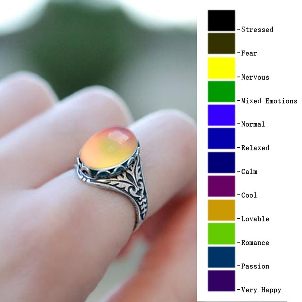 Antique, Gifts For Her, Jewelry, colorchangingmoodring