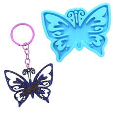 butterfly, butterflyearringsmold, jewelrymakingtool, Key Chain