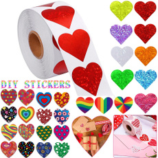 Heart, seallabel, Gifts, labelsticker