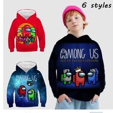 Boy, childrenshoodie, hooded, Black Top