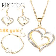 Heart, DIAMOND, Love, gold