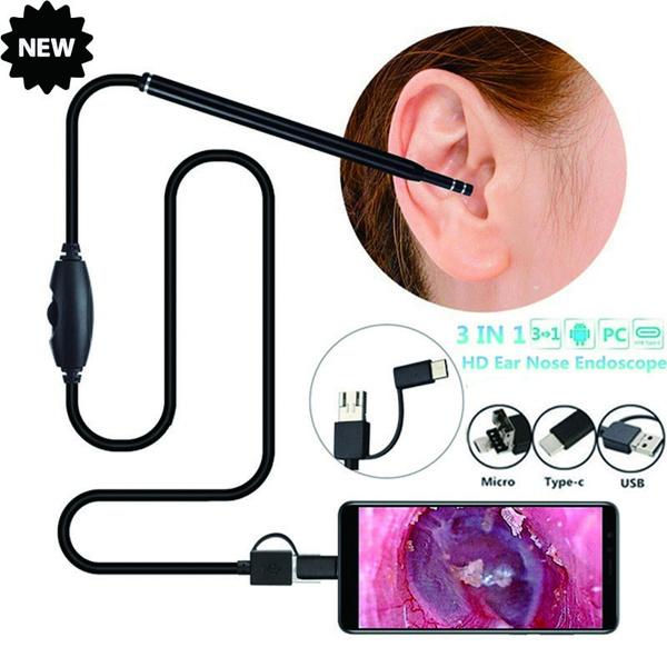 Mini, led, usb, endoscopeforiphone