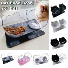 cute, catbowl, Pets, catfoodbowl