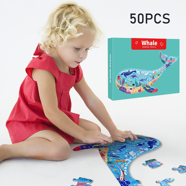 Toddler, Wooden, Jigsaw Puzzle, Puzzle