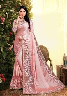 pink, blouse, sari, artsilksaree