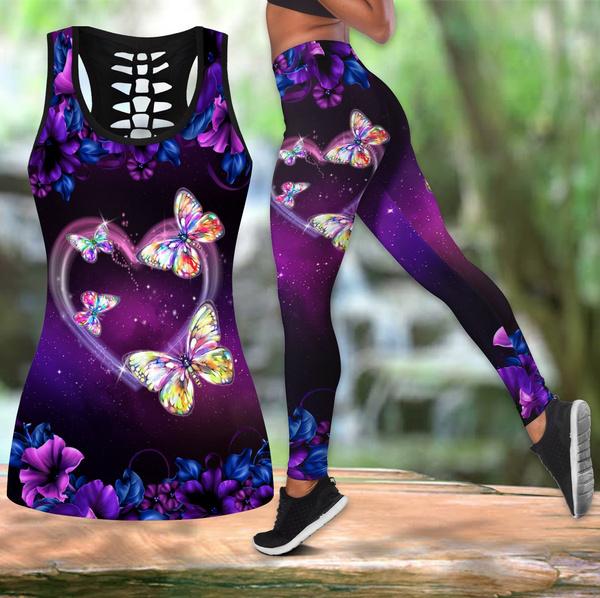 butterflyprint, Tanktops for women, Vest, Fashion