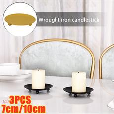 golden, desktopdecor, Home Decor, Candleholders