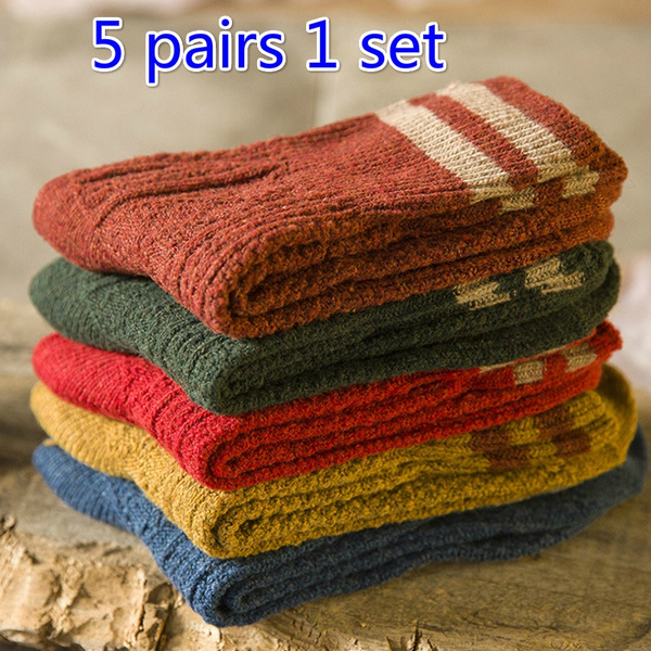 Cotton Socks, Winter, woolsock, korean style
