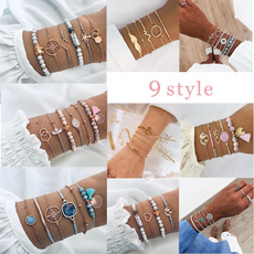 Beaded Bracelets, Turquoise, DIAMOND, Jewelry