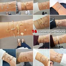 Beautiful, Love, gold bracelet, gold