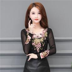 blouse, Plus Size, Lace, Tops
