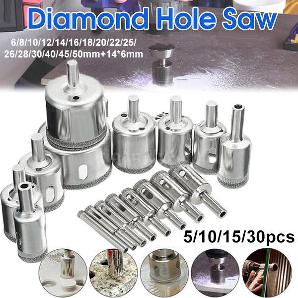 glassholedrill, holecutter, coatedcoreholesaw, Glass