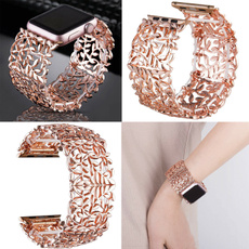 stretchywristbandsstrap, jewelrybanglewatchband, 42mm44mm, Apple