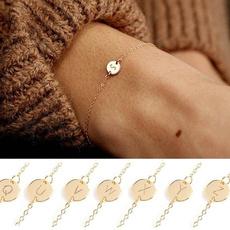 Charm Bracelet, 26letterbracelet, Chain bracelet, bracelets for couple