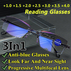 multifocal, Blues, lights, progressive