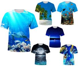Mens T Shirt, Fashion, Shirt, fish