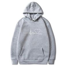 Fashion, heartprintedhoodie, loveprintedsweater, Sweaters