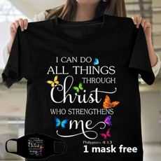 butterfly, christiantshirt, Fashion, jesusshirt
