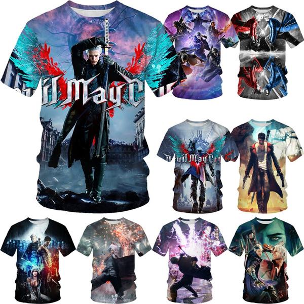 Mens T Shirt, devils, Cosplay, Men's Fashion