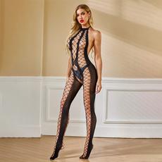 Fish Net, sexy, backless, Necks
