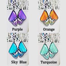 butterfly, Turquoise, Modern, giftforgirlfriend
