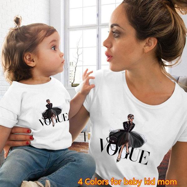 motherdaughtershirt, kidgirltshirt, momandmeoutfit, Family