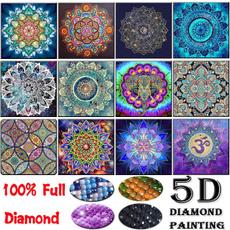 diamondpaintingkitsforadult, Home, flowerdiamondpainting, Rhinestone
