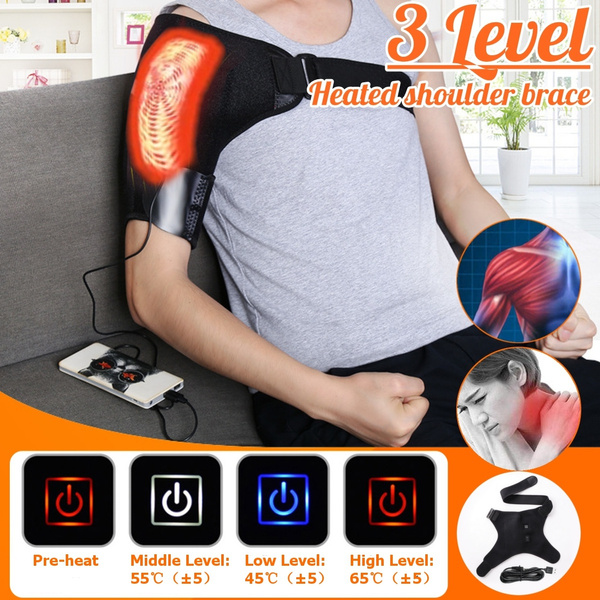 heatshoulderbrace, adjustableshoulderbrace, Support, Braces