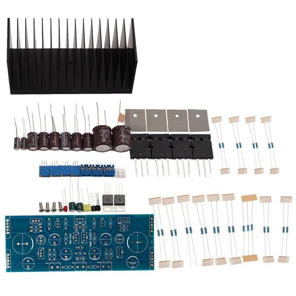 amplifierboard, amplifiercompletedboardandheatsink, 1969amplifierboard, feveramplifierboardkit