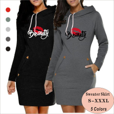 Fashion, Winter, Beauty, cottonsweater