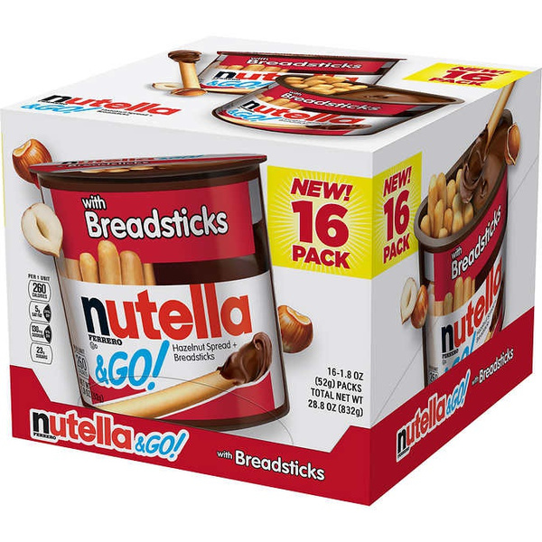 Snacks, nutella