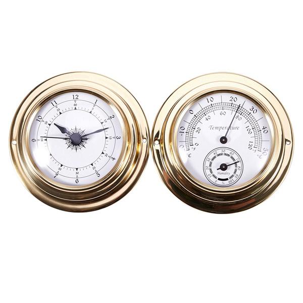 Watches, hygrometerbarometer, barometer, Thermometer