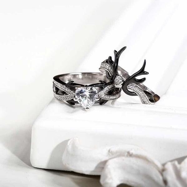 DIAMOND, 925 sterling silver, wedding ring, 925 silver rings