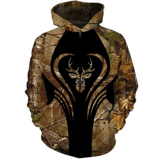 Style, hooded, printed, Hunting