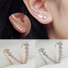 Hoop Earring, hypoallergenic, Crystal Jewelry, Jewelry