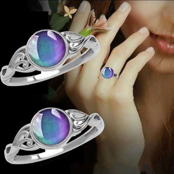 changeablering, changemoodring, Jewelry, bubble