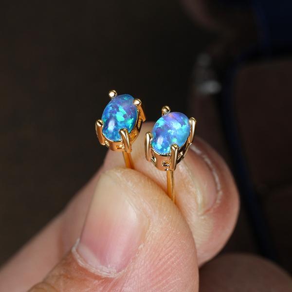 Blues, Sterling, opalearring, Jewelry