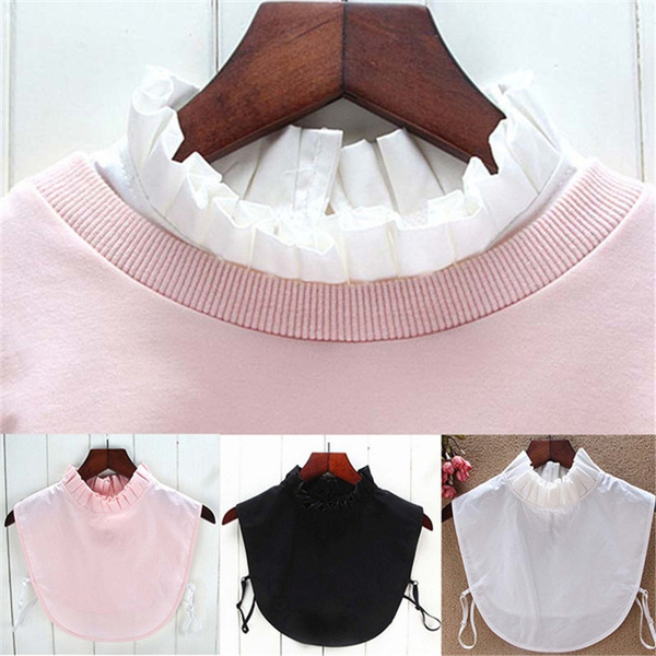 Stand Collar, Clothing & Accessories, Fashion, detachablecollar