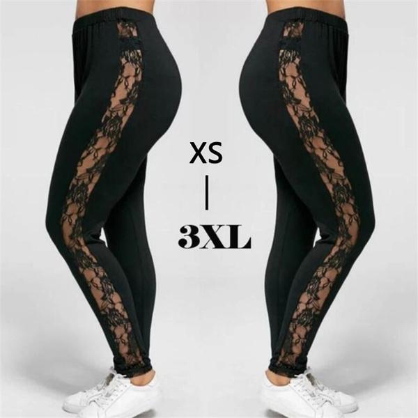 码, 跨进, Leggings, Plus Size