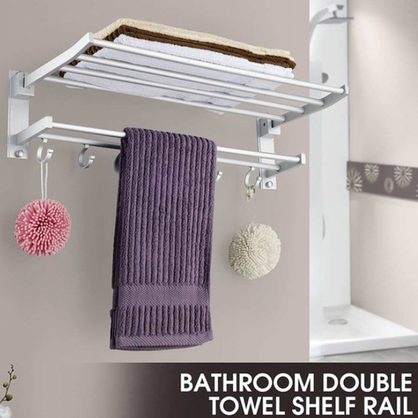 Wall Mount, Bathroom Accessories, Towels, swiveltowelrack