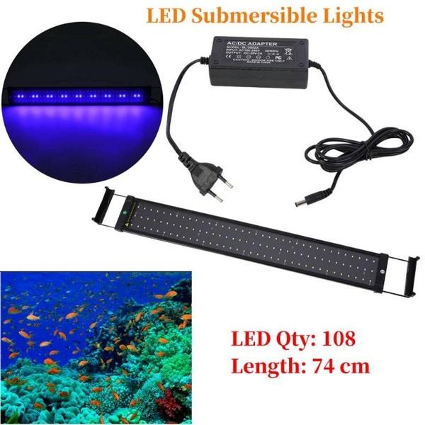 fishaquarium, Tank, ledlightfixture, telescopic