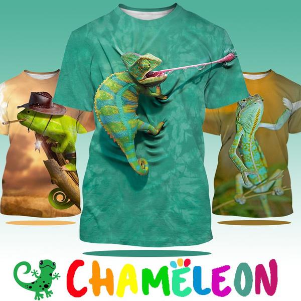 Funny, Fashion, lizardchameleon, Sleeve