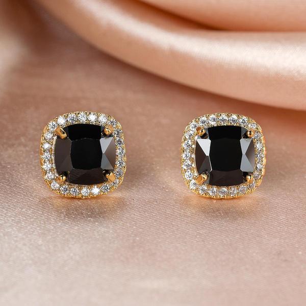 DIAMOND, Stud, gold, Stud Earring