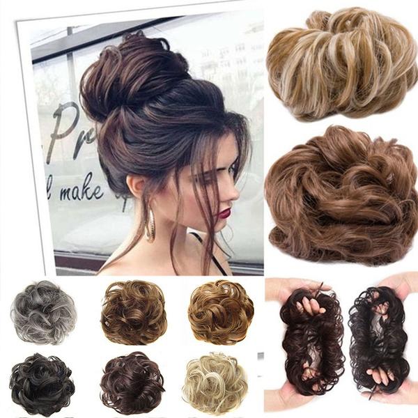 scrunchie, headdress, Hair Extensions, fluffyhair